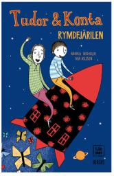 Rymdfjärilen bokomslag barnbok Tudor Konta Berghs förlag Annika Widholm