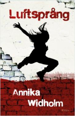Luftsprång bokomslag ungdomsroman Annika Widholm